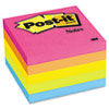 Post-It Notes Original Pads in Neon Colors, 3 x 3, Five Neon Colors, 5 100 Sheet Pads/Pack (MMM6545PK)